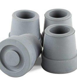 Essential Medical Cane Tip Quad 5/8'' Gray x4