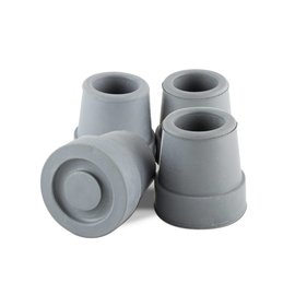 Essential Medical Cane Tip Quad 5/8'' Gray x4