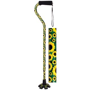Big Foot Offset Couture Cane Sunflower