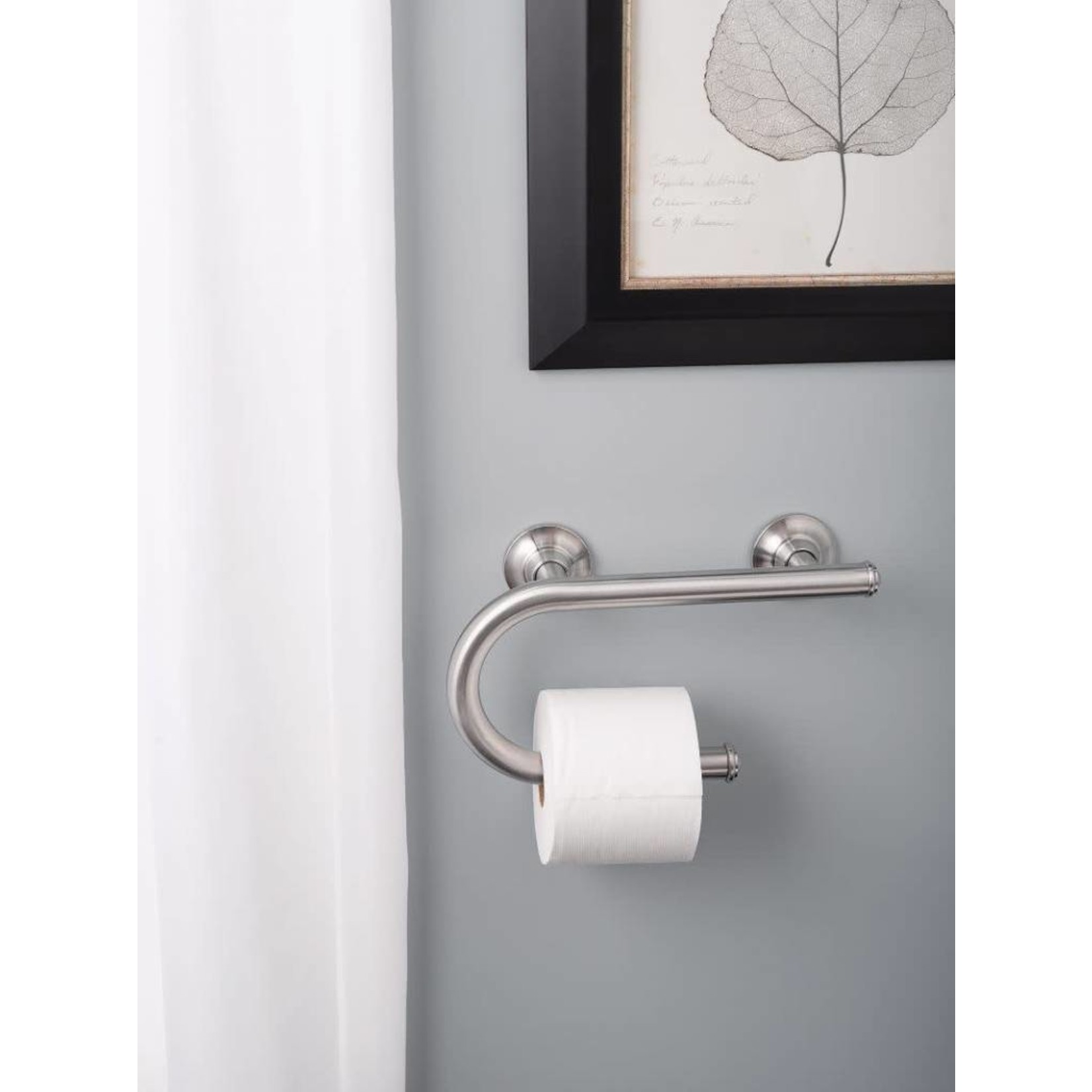 Grab Bar w/ Toilet Paper Holder (18)