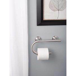 Moen Grab Bar w/ Toilet Paper Holder (18)