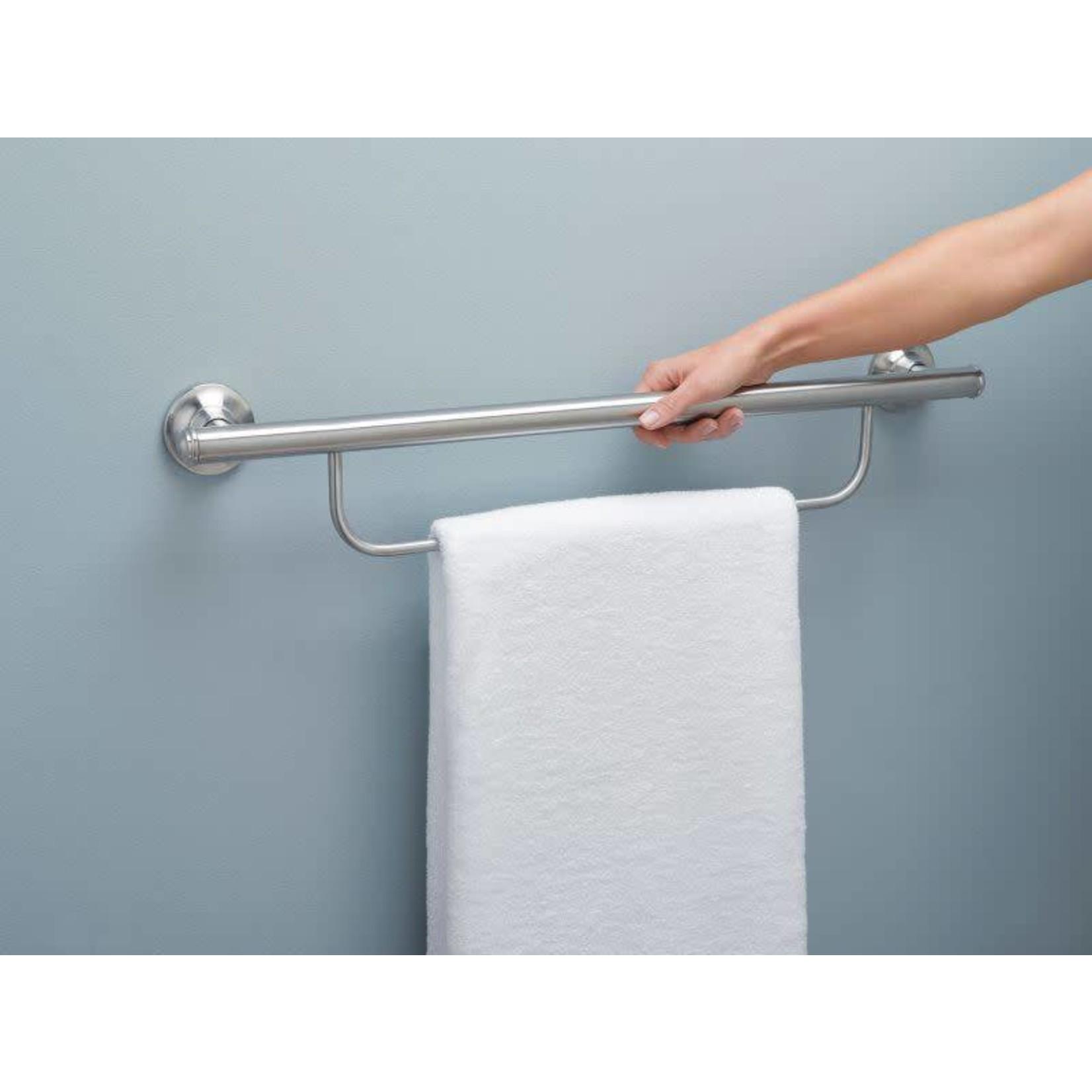 Grab Bar w/ Towel Bar