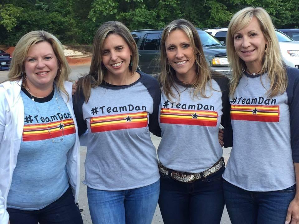 Threads on Signal #Team Dan Adult Baseball T-Shirt