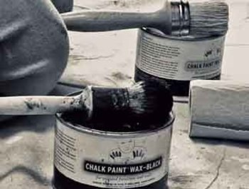 Using Chalk Paint® Wax