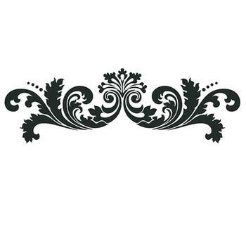 "Artisan Enhancements Leafy Scroll Linear 14""x6"""