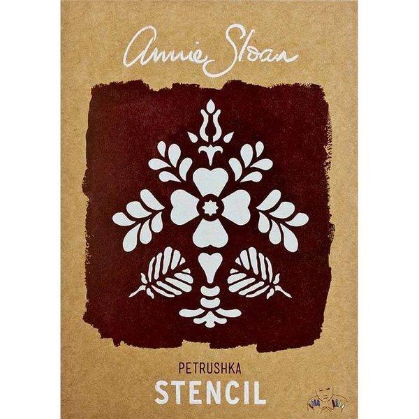 Annie Sloan Annie Sloan Stencil Size A4 - Petrushka