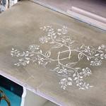 Annie Sloan Annie Sloan Stencil Size A3 - Antheia