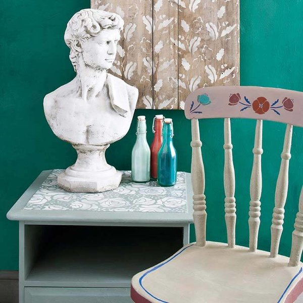 Annie Sloan Annie Sloan Stencil Size A4 - Roses