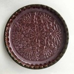 Cardinal Lake Pottery Wine Bottle Coaster