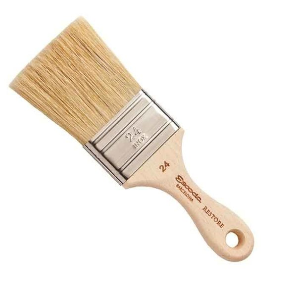 Restore Restore Flat Bristle Brush, 2""