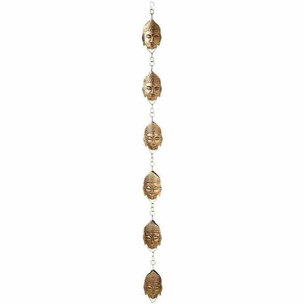 Antique Gold Buddha Rain Chain