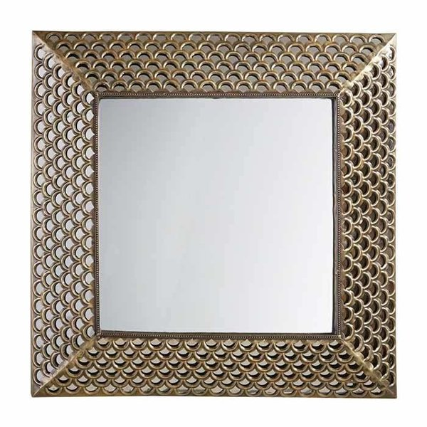 Square Metal Scale Mirror SHIPS FREE