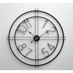 Deco Metal Wall Clock SHIPS FREE