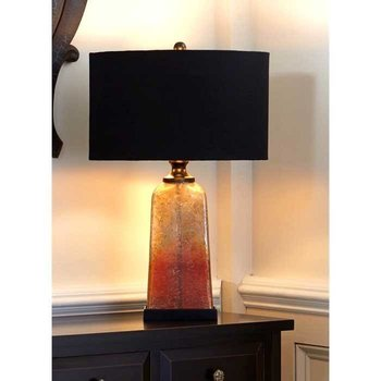 Amber Quartz Table Lamp SHIPS FREE