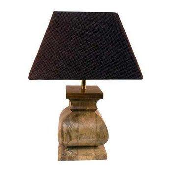 Distressed Wood Lamp SHIPS FREE