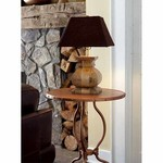Distressed Wood Lamp SHIPS FREE