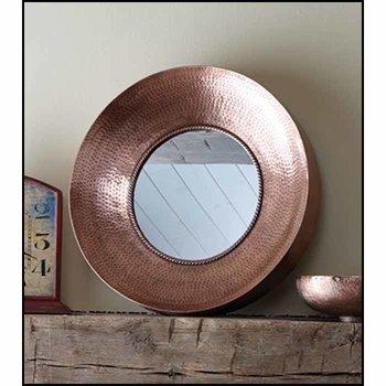 Hammered Metal Mirror SHIPS FREE