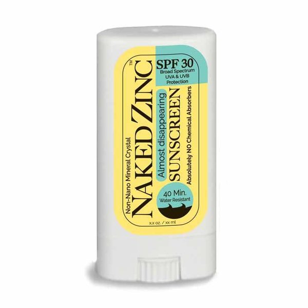 The Naked Bee Naked Zinc Broad Spectrum SPF 30 Sunstick, 0.56oz