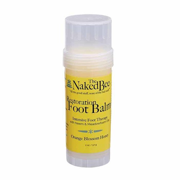 The Naked Bee Orange Blossom Honey Restoration Foot Balm