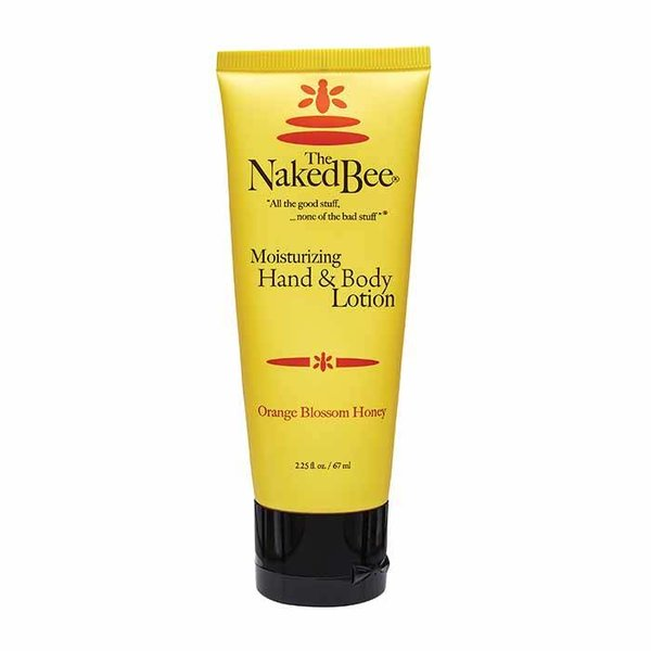 The Naked Bee Orange Blossom Honey Hand & Body Lotion, 2.25 oz