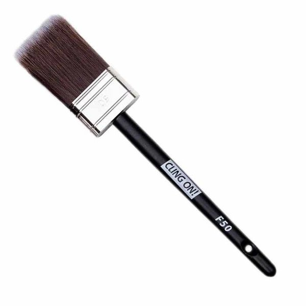 Cling On! Cling On! Flat Synthetic Brush F50