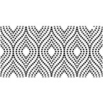 "Artisan Enhancements Artisan Enhancements Dotted Pearl Stencil 18.5""x10"""