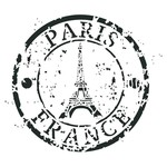 "Artisan Enhancements Artisan Enhancements Paris France Stamp Stencil 8""x8"""