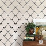 Royal Design Studio French Bee Trellis Stencil