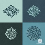 Royal Design Studio Mini Arabesque Ornament Craft Stencil Set
