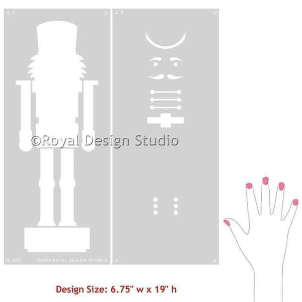 Royal Design Studio Nutcracker Stencil