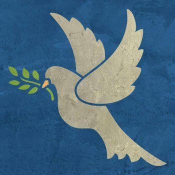 Royal Design Studio Christmas Peace Dove