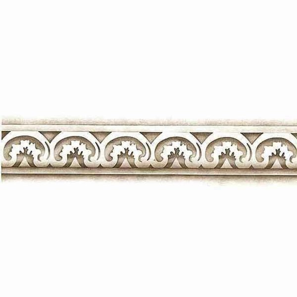 Royal Design Studio Carved Acanthus Molding Furniture Stencil