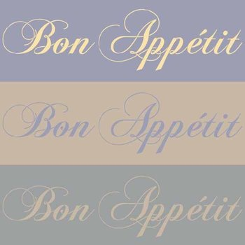Royal Design Studio Bon Appetit