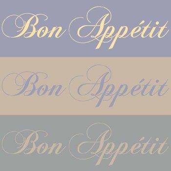 Royal Design Studio Bon Appetit
