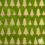 Royal Design Studio Standing Trees Christmas Stencil