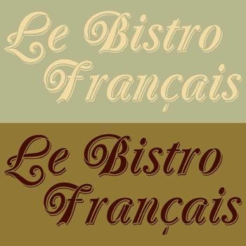 Royal Design Studio Le Bistro Francais