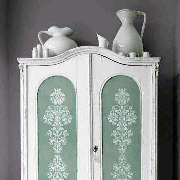 Royal Design Studio Delicate Floral Panel A Stencil