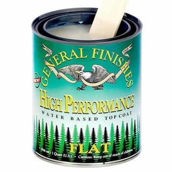 General Finishes High Performance Topcoat, Quart