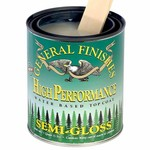 General Finishes High Performance Water Base Topcoat, Pint