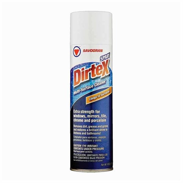 Dirtex Aerosol Multi-Surface Cleaner, 18oz