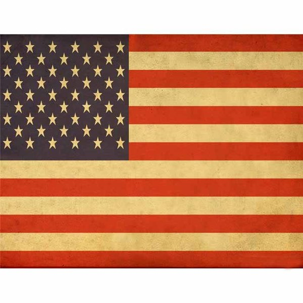 US Flag Decoupage Paper