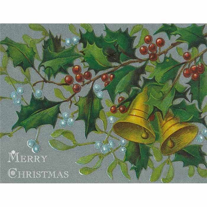 Christmas Bells Images.Merry Christmas Bells Ivy