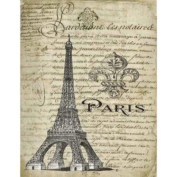 Eiffel Tower Fleur