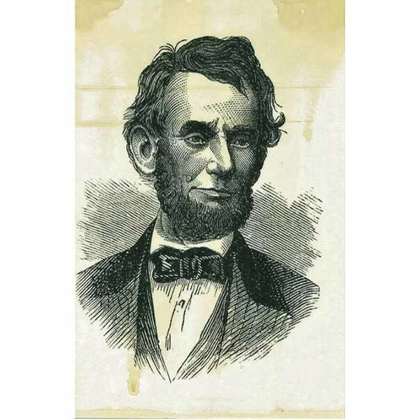 Abraham Lincoln Decoupage Paper