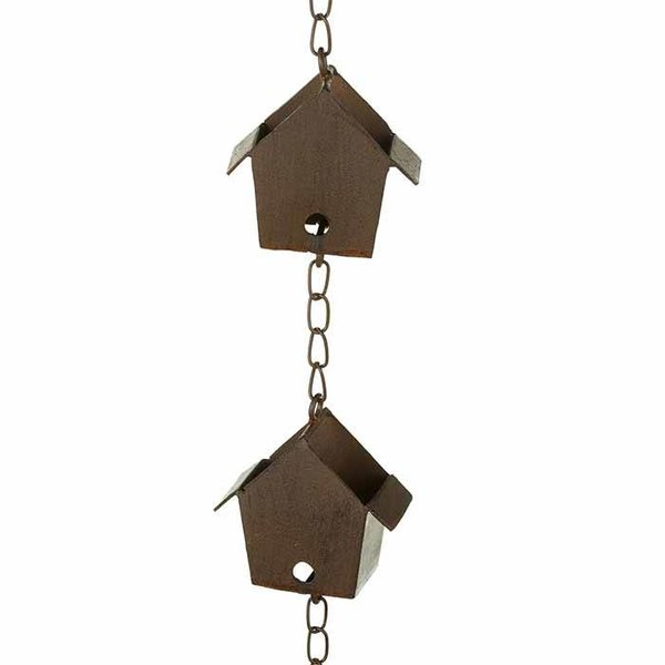 Bird House Rain Chain