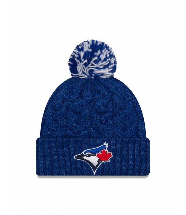 NEW ERA Women Cozy Cable Knit Toronto Blue Jays