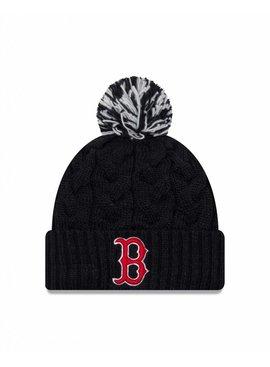 NEW ERA Tuque Cozy Cable pour Femme des Red Sox de  Boston