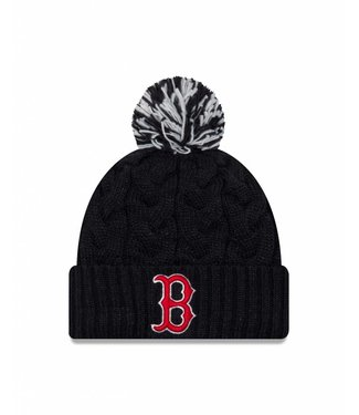NEW ERA Tuque Cozy Cable pour Femme des Red Sox de  Boston