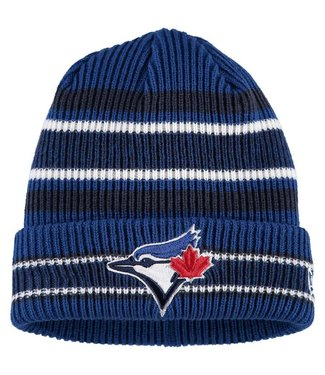 NEW ERA Tuque Junior Vintage Stripe des Blue Jays de Toronto