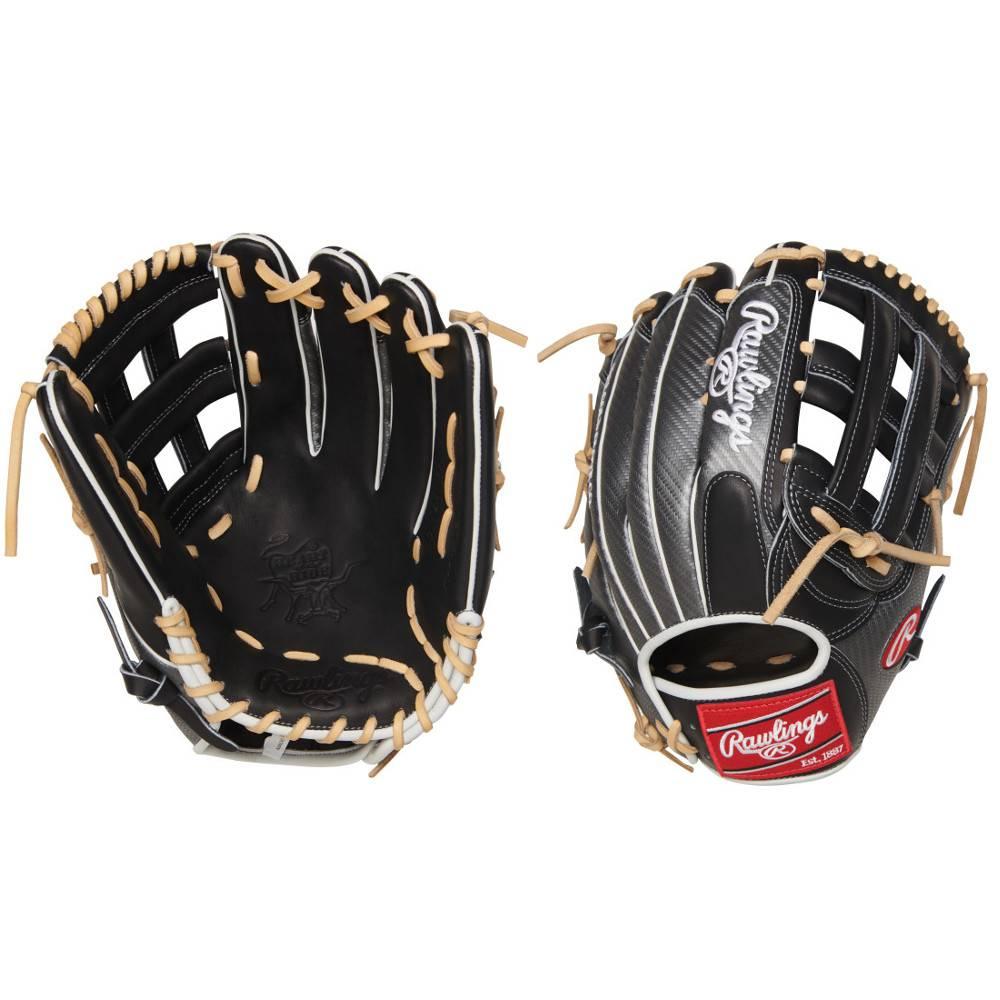 "RAWLINGS PRO3039-6BCF Heart of the Hide Hyper Shell 12 3/4"" Baseball Glove"